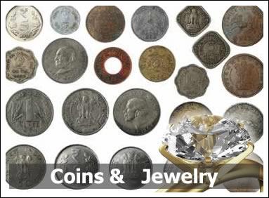 Jewelery & Coins